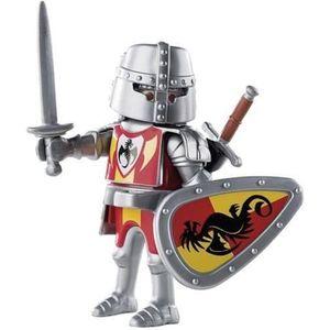 FIGURINE - PERSONNAGE PLAYMOBIL 9076 - Chevalier du Dragon Noir