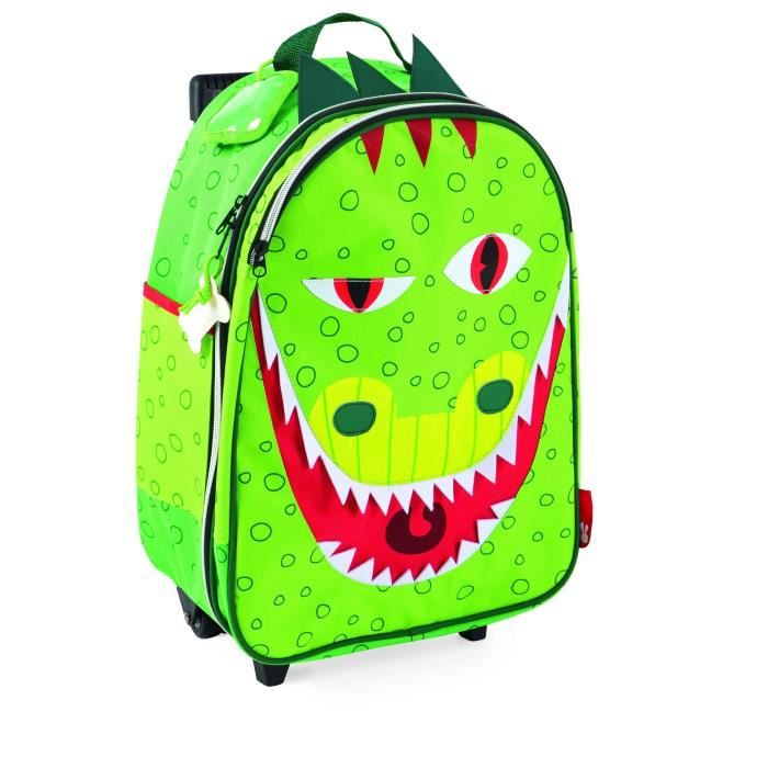 JANOD Valise A Roulettes Dragon