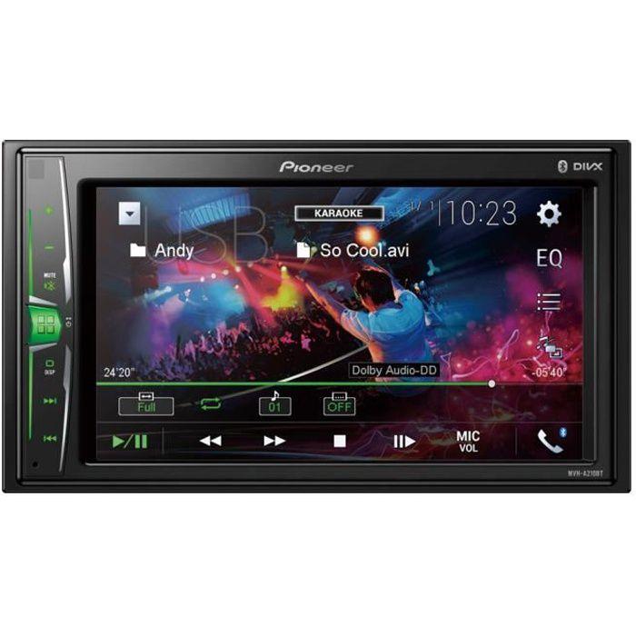 PIONEER Auto Radio Vidéo 2 DIN 6,2\