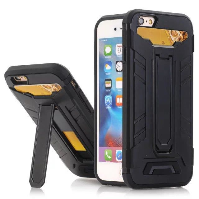 Carte Cdiscount Apple Pay.Multifonctions Double Couche Armure Wallet Housse Protection