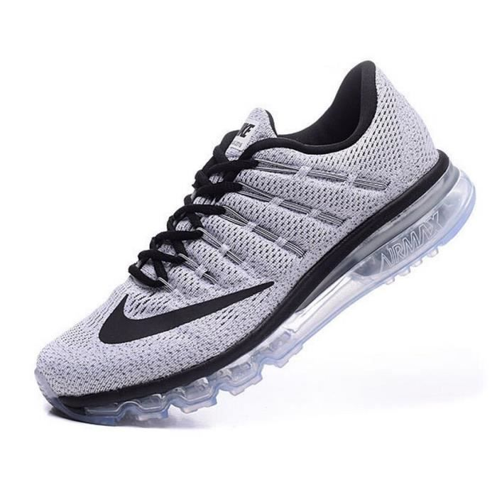 online retailer 50bf2 ef556 NIKE Air max 2016 Homme Femme Basket Running Chaussures Gris Taille 40-45