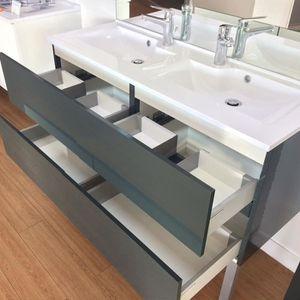 meuble simple vasque 120 achat vente pas cher. Black Bedroom Furniture Sets. Home Design Ideas