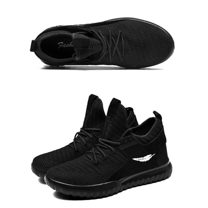 Automne Tide Hommes Sports Chaussures Personnalité Sneakers Chaussures respirantes Tide