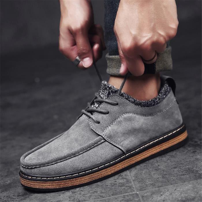 Sneakers Homme Poids Léger Antidérapant Marque De Luxe Meilleure 2017 Sneaker Poids Léger Confortable Chaussure Grande Taille 39-44 0MXa4