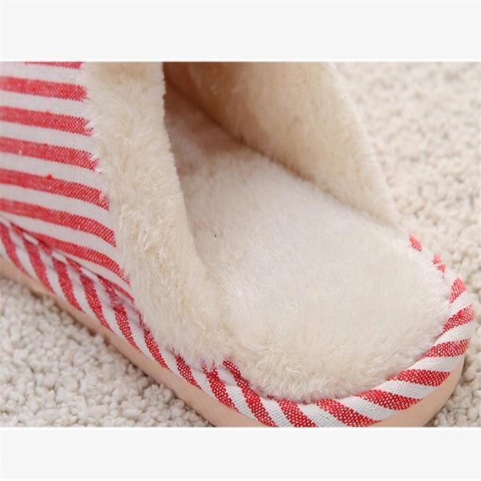pantoufles femmes hiver Poids Léger chausson femme hiver chaud maison Série à domicile chaussures hiver maison de marque Plus