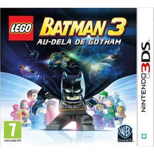 JEU 3DS LEGO Batman 3 Au Delà de Gotham Jeu 3DS