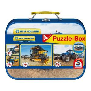 SCHMIDT SPIELE Coffret 4 Puzzles New Holland