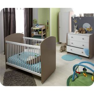 Chambre bébé complète Soho Taupe - Achat / Vente chambre complète ...