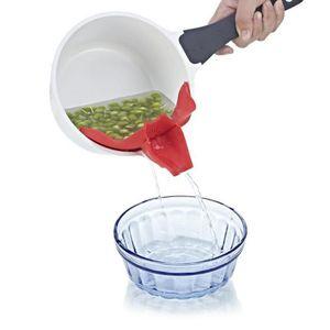 ENTONNOIR HT Chaude Silicone Soupe Entonnoir Cuisine Gadget