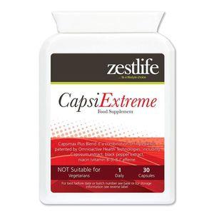 COMPLÉMENT MINCEUR CAPSI EXTREME 300mg 2 x 30 capsules Bruleur de gra