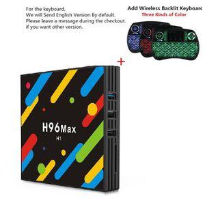 BOX MULTIMEDIA Original H96 MAX H1 TV Box Android 7.1 RK3328 4 Go