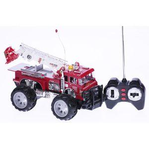 Voiture de pompier telecommande achat vente jeux et jouets pas chers - Voiture pompier enfant ...