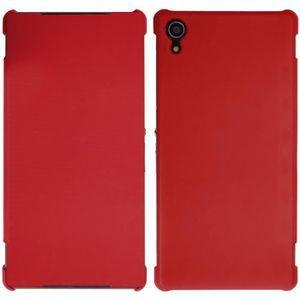 COQUE - BUMPER Coque Arrière Etui Folio Rabat Rouge Pour Sony Xpe