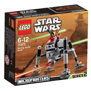 ASSEMBLAGE CONSTRUCTION LEGO® Star Wars 75077 Homing Spider Droid