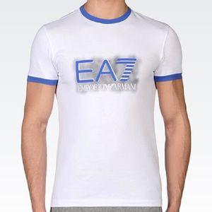T-SHIRT Tee Shirt EA7 Emporio Armani Manches Courtes, Homm