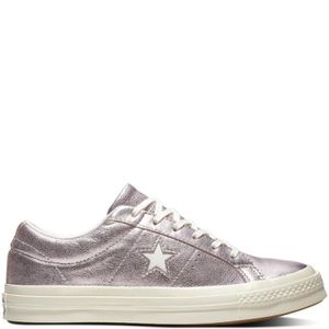 0ac0a75762cf7 BASKET BASKET - converse one star metallic leather low to