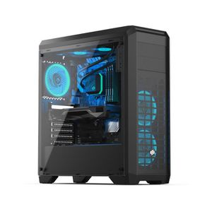 UNITÉ CENTRALE  PC Gamer, Intel i5, GTX 1050, 240 Go SSD, 1 To HDD