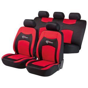 HOUSSE DE SIÈGE Set de Housses de siège auto RS Racing - Rouge et