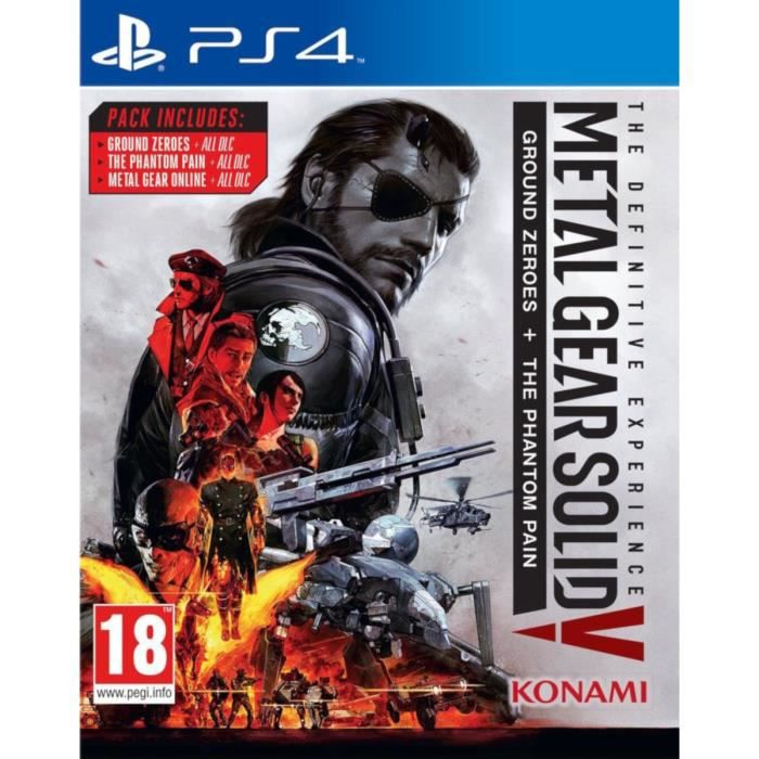 Metal Gear Solid V The Definitive Experience Jeu PS4