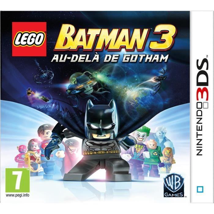 Lego batman 3 au del de gotham jeu 3ds achat vente jeu 3ds os jeu 3ds lego b 238221 cdiscount - Jeux de lego sur jeux info ...