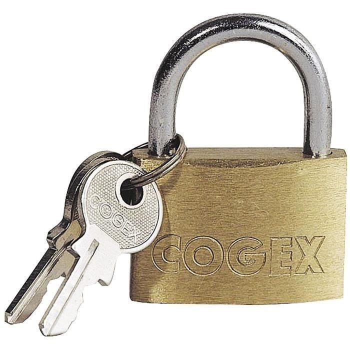 COGEX Cadenas 25 mm avec 2 clés