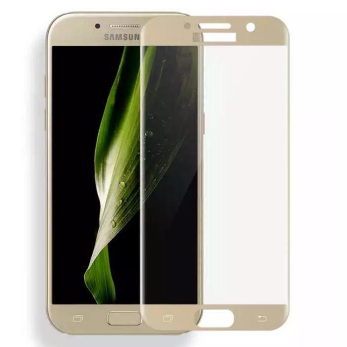 43ef02381e1adf Pour Samsung Galaxy A5 (2017) Film de protection en verre trempé Film de  protection HD Ultra Slim (5.2Or)