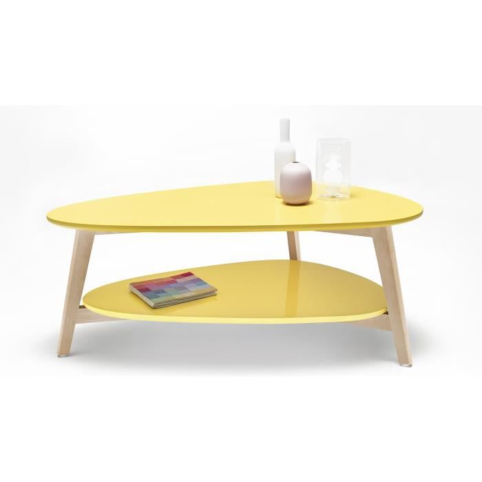 Table Basse Scandinave Jaune Achat Vente Table Basse Table