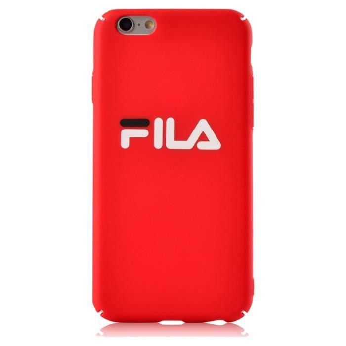 coque iphone 8 fila silicone
