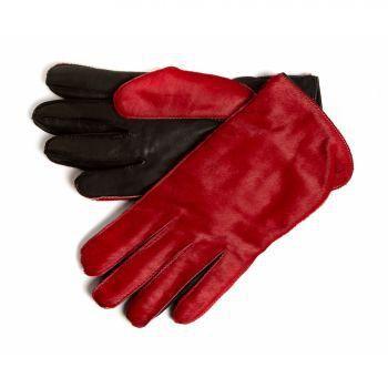c8d3c906330d4 Gant cuir Simon Carter, peau de ... Rouge - Achat / Vente gant ...