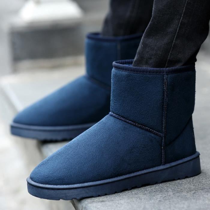 grande couleurs laine de de homme chaude neige amant Bottes taille 7 Ajouter 4WOS1AW
