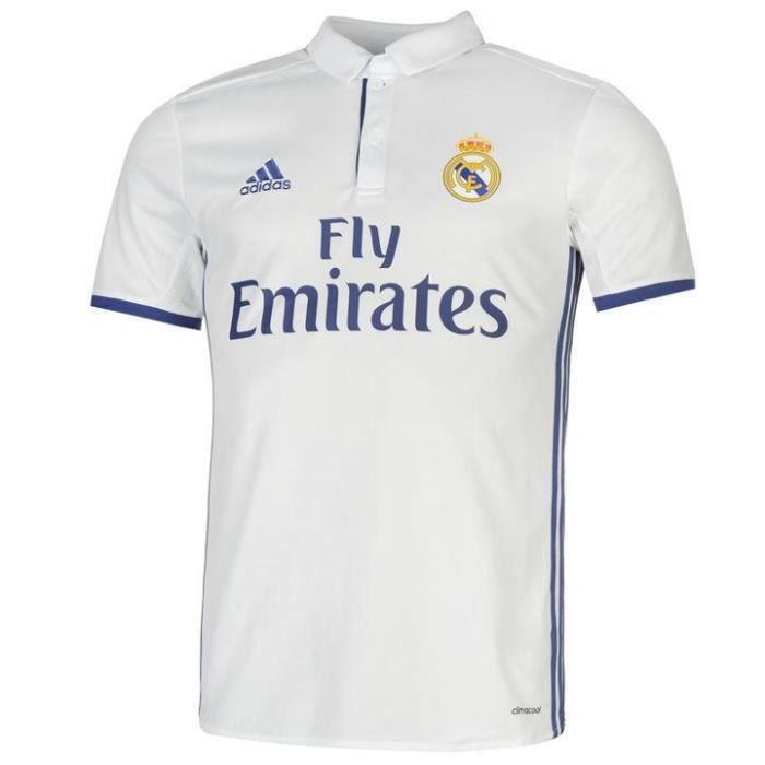 Madrid Cher Maillot Prix Pas Domicile Neuf 20162017 Adidas Real klOwiuTPXZ