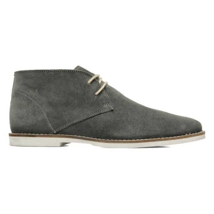 Chaussures Montante FRANCK WRIGHT Bridges leather Charcoal Homme Pointure 43