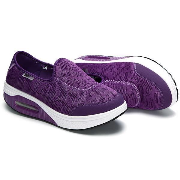 Chaussures Plate-Forme Respirant Balançoire Décontractée Femmes