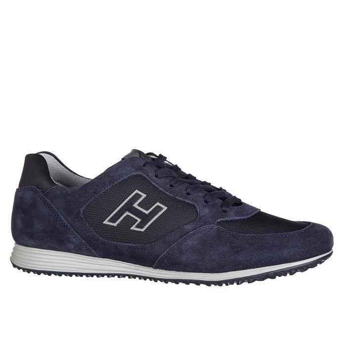 Chaussures baskets sneakers homme en daim h205 olympia x h flock Hogan