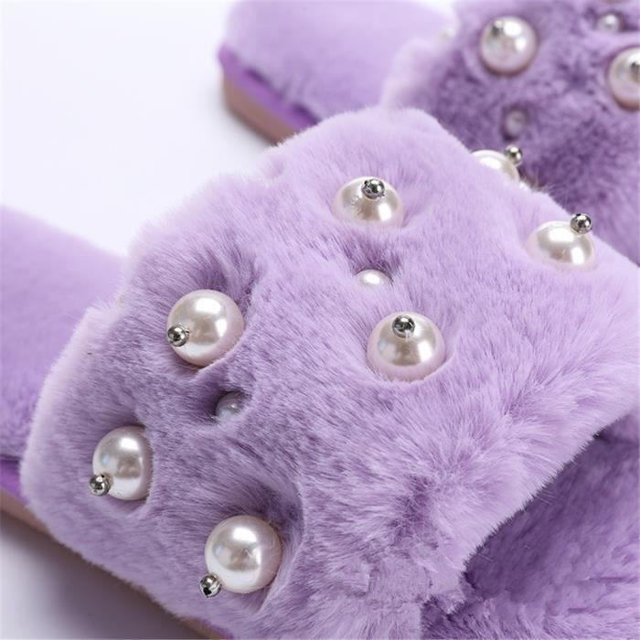 chaussons femmes hiver intérieur pantoufles chaud hiver peluche Classique Série à domicile chaussure marque Plus De Couleur fIrHt5o