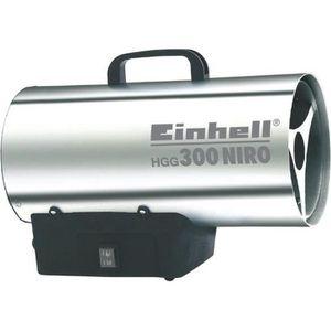 POÊLE À GAZ EINHELL Générateur d'air chaud HGG 300 Niro