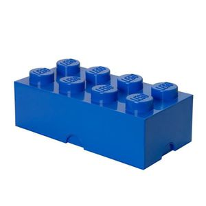 KIT MODÉLISME Lego Boîte De Rangement 8 Briques Plastique UIR9N