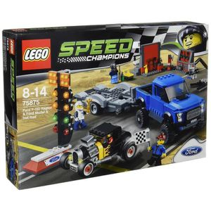 ASSEMBLAGE CONSTRUCTION LEGO Speed ??Champions 75875: Ford F-150 Raptor et