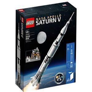 SERVEUR STOCKAGE - NAS  LEGO IDEAS 21309  NASA Apollo Saturn V