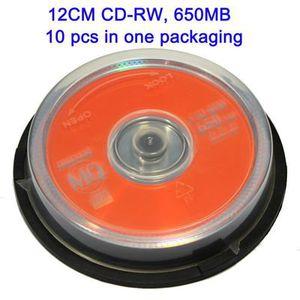 CD - DVD VIERGE Média CD-RW 650MB Pack de 10 MAXELL