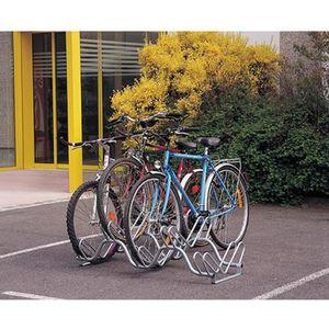 PORTE-VELO Râtelier 6 vélos sur 2 niveaux Mottez B134V