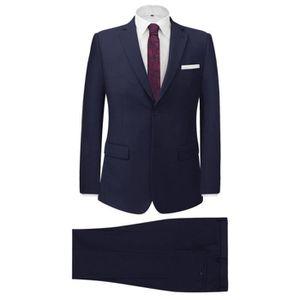 COSTUME - TAILLEUR Costume pour hommes 2 pièces Bleu marine Taille 56 f8a9425dcc5