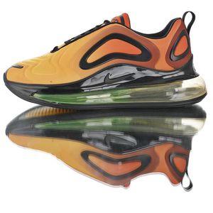 nouveau produit 159bf ef3a8 Nike Baskets Air Max 720 Chaussures de Course homme femem Noir orange