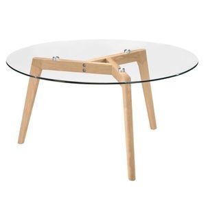 Table basse avec plateau en verre - Achat   Vente pas cher fd0f5a61326c