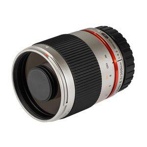 OBJECTIF SAMYANG 300mm F6.3 ED AS UMC CS Micro 4/3 Argent