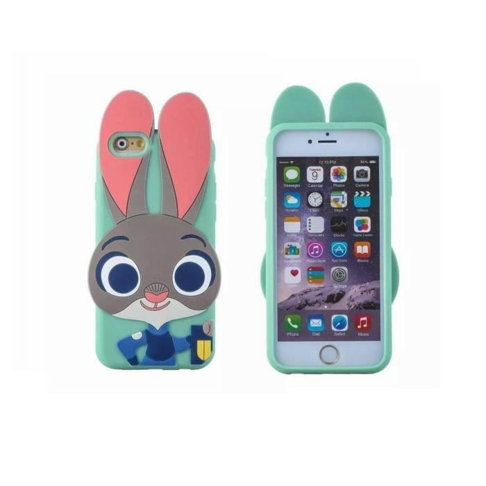 coque samsung s7 silicone animaux