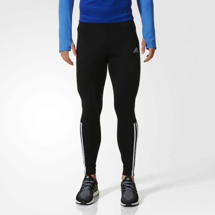 Adidas Response Climawarm Collant De Sport Fitness Running Legging Homme  Noir 0709b53c36c