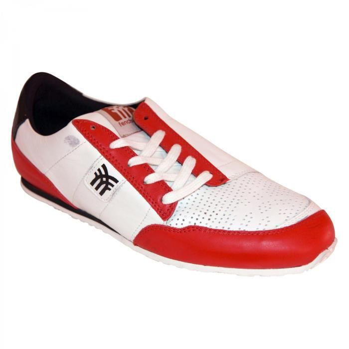 samples shoes FENCHURCH FRENETIC RED MEN