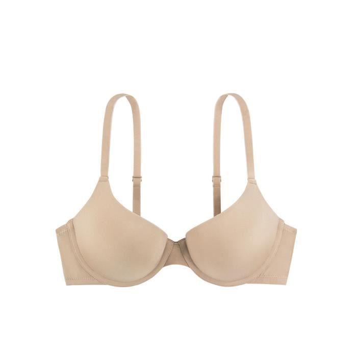 fd9ba7af6d Soutien-gorge Balconnet Dorina T-shirt Bra Michelle Nude Beige Beige ...