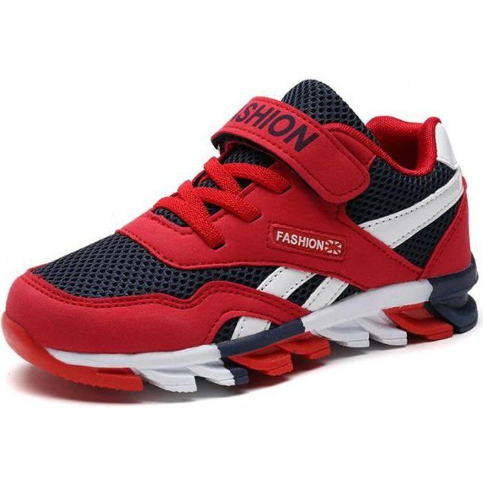 BASKET Enfants Chaussures baskets Garçon Jeunes filles Re